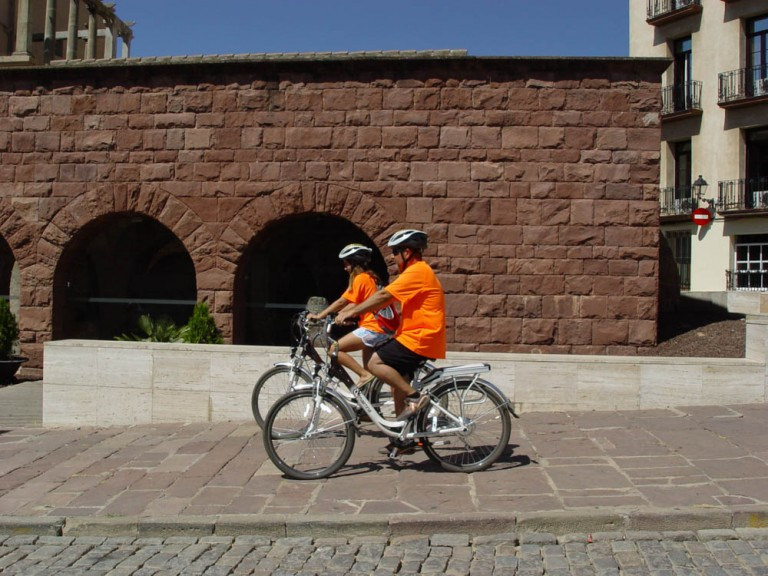 Ruta urbana en bici
