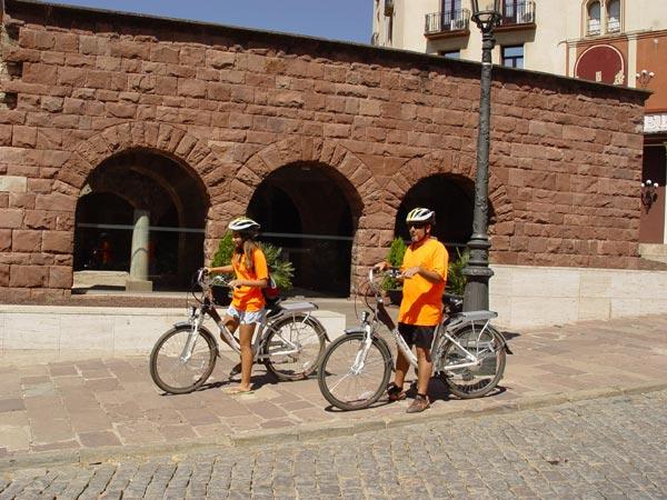 Ruta urbana en bicicleta